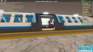 (ROBLOX) Automated Underground Metro Line (The Plaza Subway)