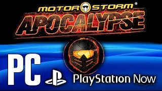 MotorStorm Apocalypse PC Gameplay Full HD [PlayStation Now]
