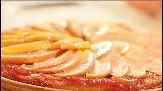 Как приготовить Пирог с яблоками, Яблочный пирог рецепт Тарт Татен кухня Франции