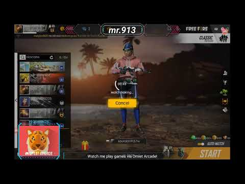 Watch Me Stream Free Fire On Solo Vs Squad