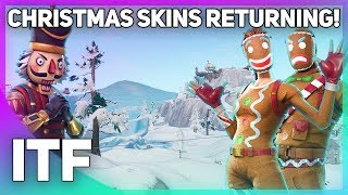 Christmas Skins WILL Be Coming Back! (Fortnite Battle Royale)