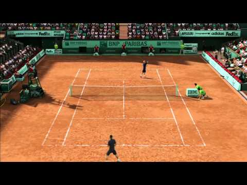 Grand Slam Tennis 2 (Federer Vs Roddick) Online Ranked Match