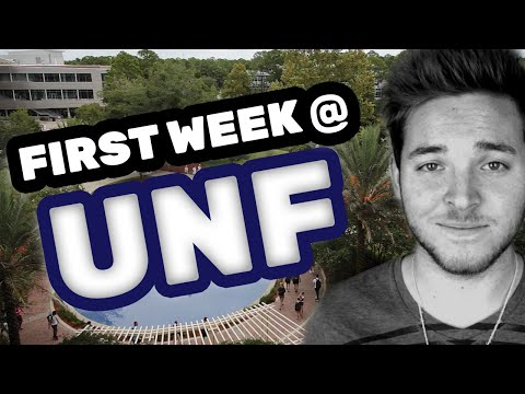 First Week of College at UNF | Hicks Honors Retreat