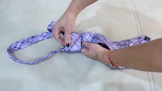 Как завязать мужской галстук за 1 минуту?
