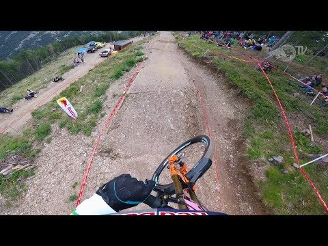 Rachel Atherton GoPro run - Andorra 2017