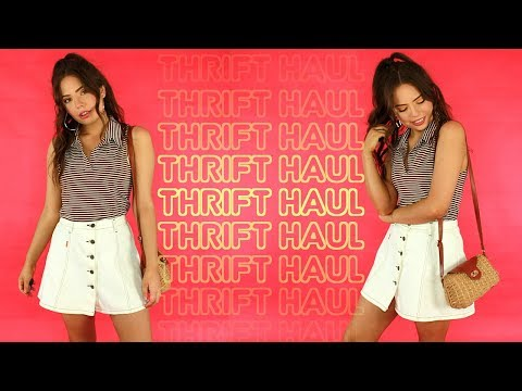 THRIFT HAUL + TRY ON   90's & Early 2000's finds!