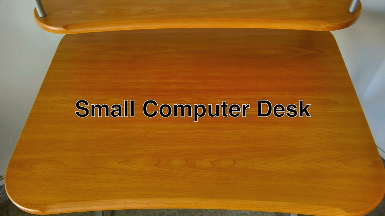 Modern Compact Computer Desk Small Computer Desk With Hutch In Compact Modern Style Made Of Metal Wood For Home Office Gaming