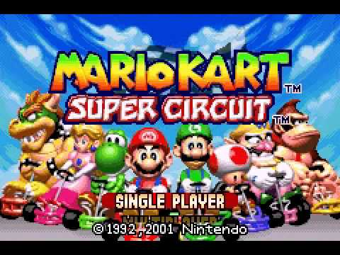 Mario Kart Super Circuit Opening Theme Youtube