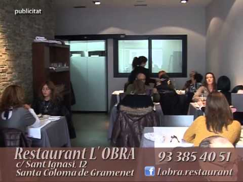 Restaurant L'OBRA Santa Coloma de Gramenet spot 1.mp4