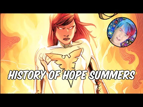 History of Hope Summers  The Mutant Messiah