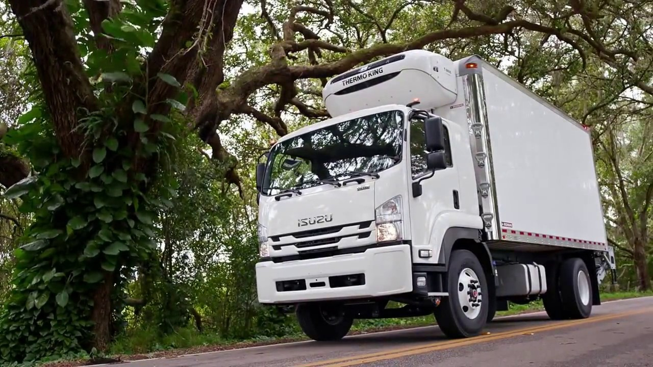 Isuzu Ftr With Refrigerated Body