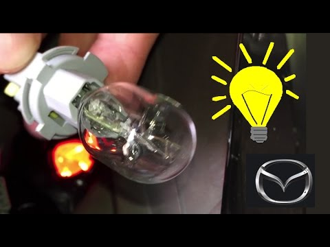 Replacing Brake Light Bulb On A Mazda 3
