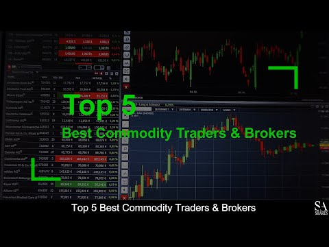 TOP 5 BEST Commodity Traders & Brokers (revealed ) 🔎