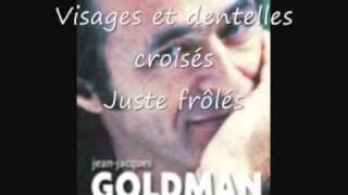 A NOS ACTES MANQUÉS - Jean-Jacques Goldman - PAROLES