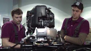 Сервис и ремонт алюминиевых катеров, установка моторов и дополнительного оборудования на катер(На базе сервисного центра