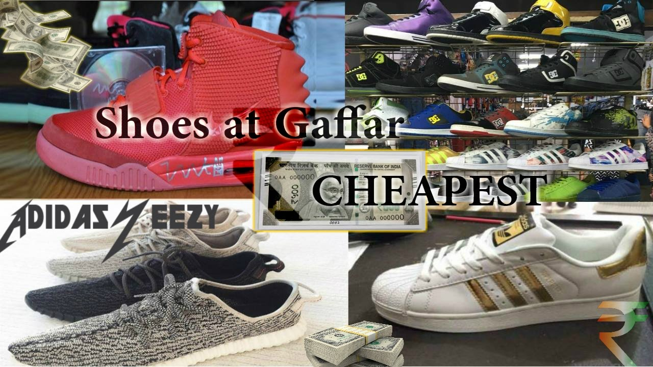 new styles b803e 80556 SECRET GAFFAR SHOES😱   MUST WATCH   Adidas Superstars NIKE   Much More -  YouTube