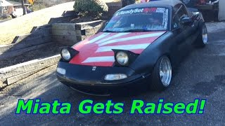 Slammed Miata Gets Raised