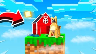 MAKING A DOG HOUSE ON ONE BLOCK! (EP 4)