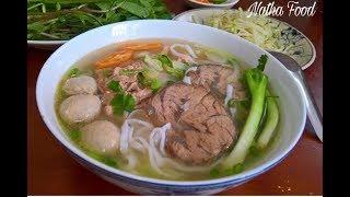 Phở bò - Cách nấu phở bò ngon tuyệt vời  của mẹ    Vietnamese Beef Noodle soup   Natha Food