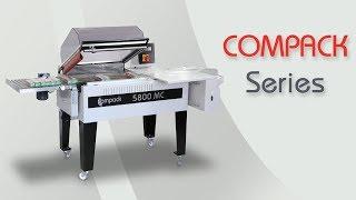 COMPACK 5800MC Manual L Sealer Shrink Wrapping Machine