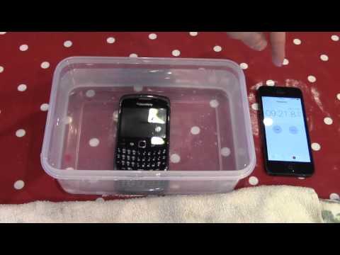 Is The Blackberry Curve Waterproof?