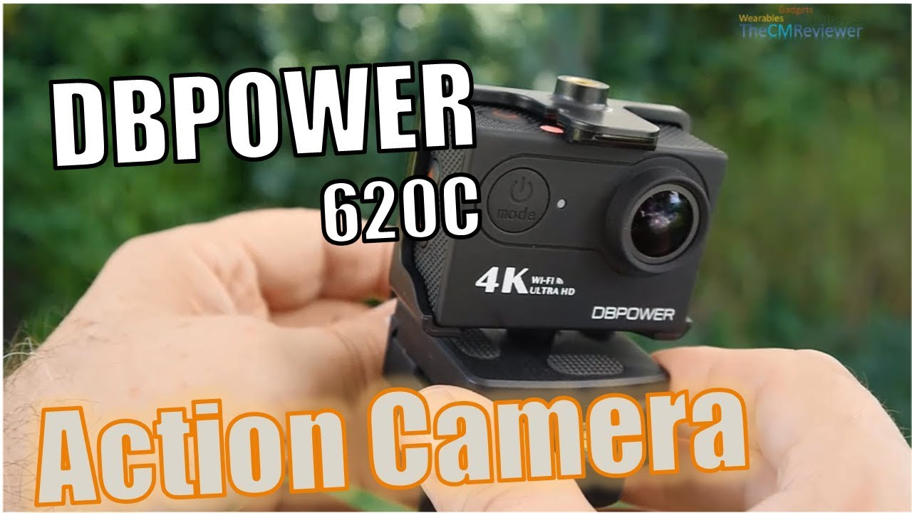 dbpower 620c 4k action camera test review hands on deutsch youtube. Black Bedroom Furniture Sets. Home Design Ideas
