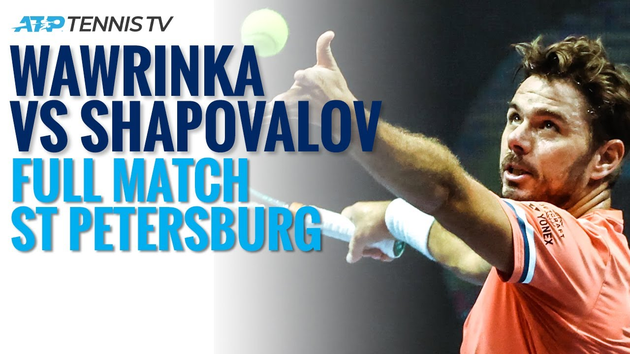 Stan Wawrinka v Denis Shapovalov Live Stream - ATP Tennis | St Petersburg 2020