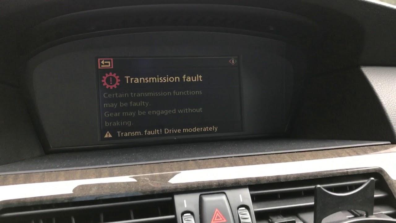 Bmw e60 Transmission Fault