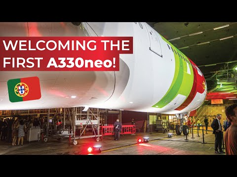 VLOG | Flying to Lisbon to see the FIRST Airbus A330-900neo!