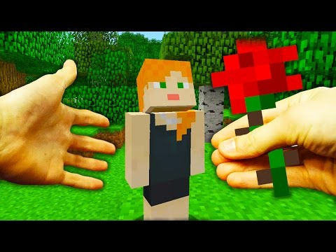 REALISTIC MINECRAFT - STEVE GETS MARRIED!