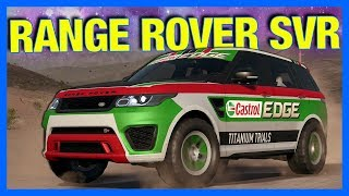 Need for Speed Payback : WHERE IS THE RANGE ROVER SVR??