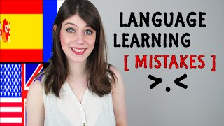 MISTAKES We All Make LEARNING LANGUAGES