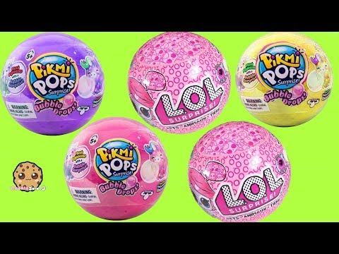 POP! LOL Surprise Pets Ball + Bubble Drops Blind Bags - Cute Toy Video