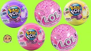 POP! LOL Surprise Pets Ball + Bubble Drops Blind Bags - Cute Toy Video