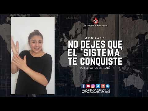 No dejes que el 'sistema' te conquiste ⎪ Español/Frances + LSA