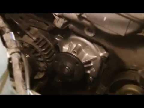Toyota yaris vvti waterpump replacement pt 2