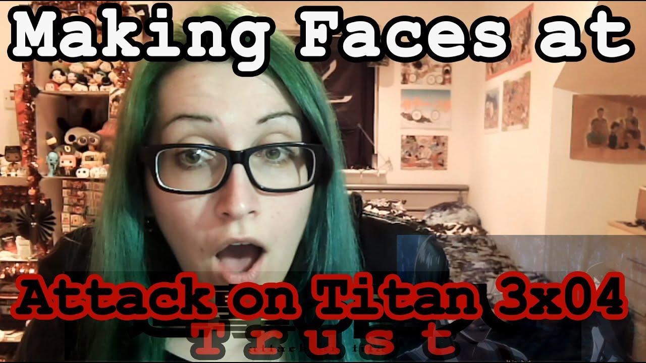 Attack on Titan 3x04 Reaction~ - YouTube