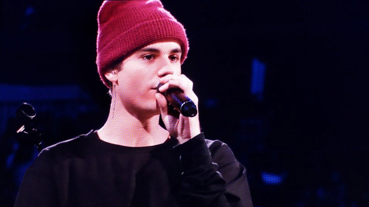 An Evening With Justin Bieber Houston Texas Nov 19 2015 Youtube