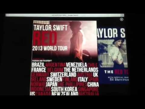 Taylor Swift Red World Tour Dates