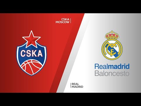 CSKA Moscow - Real Madrid Highlights | Turkish Airlines EuroLeague Semifinals