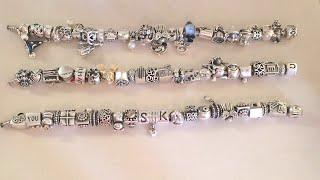 Mi colección de pulseras Pandora y Chamilia