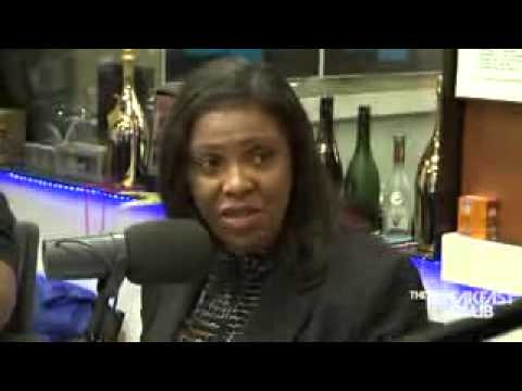 Letitia James Interview at The Breakfast Club Power 105 1 02 02 2015