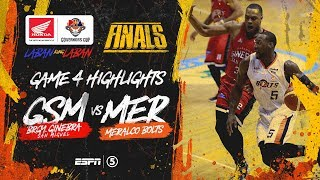 Highlights: G4: Ginebra vs Meralco | PBA Governors' Cup 2019 Finals