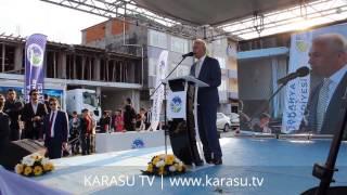 Mehmet İspiroğlu Karasu Sahil Projesi Temel Atma Töreni Konuşması