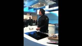 Cooking | Alessandro Borghese cucina sui Piani Cottura Induzione Siemens
