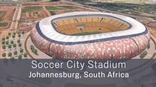 South Africa Stadiums in 3D