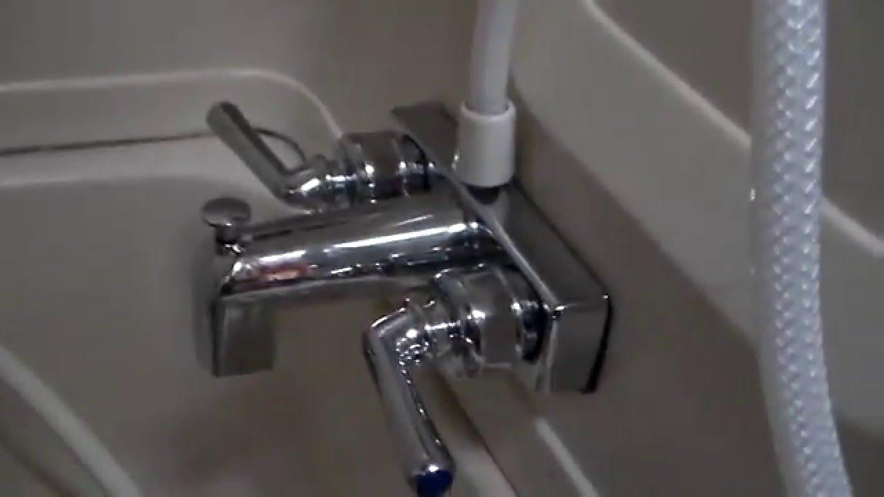 replacing an rv bath faucet full time rving