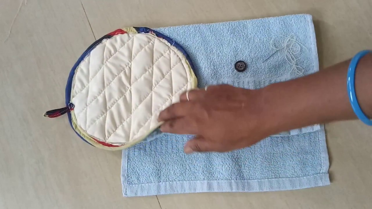 How To Sew A Simple Hanging Hand Towel For Your Kitchen Or Bathroom