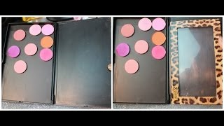 DIY -Make your own Zpalette/Magenetic palette ! for less then $4 bucks!