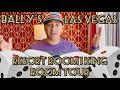 BALLY'S LAS VEGAS RESORT ROOM - ONE KING NON-SMOKING ROOM TOUR | NINTH ISLAND CONNECTION